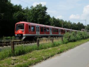 S-Bahn Richtung Hamburg